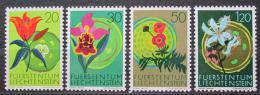 Poštovní známky Lichtenštejnsko 1970 Flóra Mi# 521-24