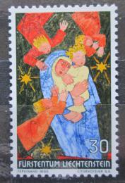 Poštovní známka Lichtenštejnsko 1972 Vánoce, umìní, Ferdinand Nigg Mi# 578
