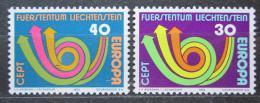 Poštovní známky Lichtenštejnsko 1973 Evropa CEPT Mi# 579-80