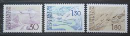 Poštovní známky Lichtenštejnsko 1973 Místní krajina Mi# 581-83 Kat 6€