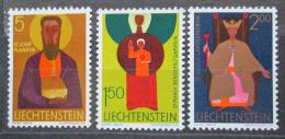 Poštovní známky Lichtenštejnsko 1968 Patroni kostelù Mi# 500-02 Kat 6€