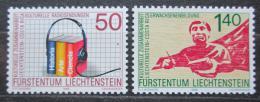 Poštovní známky Lichtenštejnsko 1988 Události Mi# 945-46 Kat 3.40€