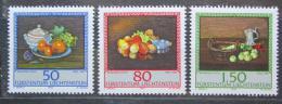 Poštovní známky Lichtenštejnsko 1990 Umìní, Benjamin Steck Mi# 990-92
