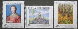Poštovní známky Česká republika 2003 Umění Mi# 382-84 - zvětšit obrázek