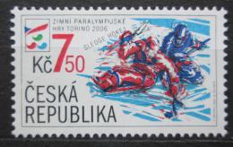 Poštovní známka Česká republika 2006 Paralympijské hry Mi# 460 - zvětšit obrázek
