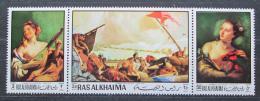 Poštovní známky Rás al-Chajma 1970 Umìní, Tiepolo Mi# 369,71,73 Kat 8€