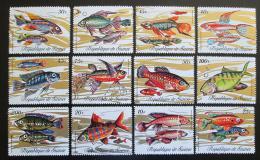 Poštovní známky Guinea 1971 Ryby TOP SET Mi# 571-82 Kat 16€
