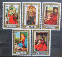 Poštovní známky Fudžajra 1972 Umìní, madony Mi# 876-80 Kat 6€