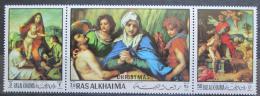 Poštovní známky Rás al-Chajma 1970 Umìní, Andrea del Sarto Mi# 399-401 Kat 5€