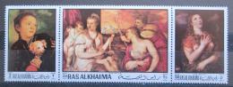 Poštovní známky Rás al-Chajma 1970 Umìní, Tizian Mi# 368,370,372 Kat 5.10€