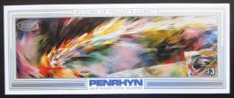 Poštovní známka Penrhyn 1986 Halleyova kometa Mi# Block 71