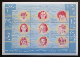 Poštovní známky Ghana 1996 LOH Atlanta Mi# 2376-84 Kat 10€