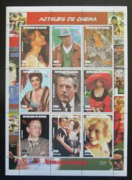 Poštovní známky Senegal 1998 Slavní herci Mi# N/N