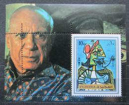 Poštovní známka Fudžajra 1972 Umìní, Picasso Mi# Block 140 A Kat 6.50€