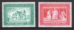 Poštovní známky Vatikán 1964 Mikuláš Kusánský Mi# 462-63