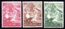 Poštovní známky Vatikán 1965 Vánoce Mi# 487-89