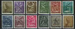Poštovní známky Vatikán 1966 Profese Mi# 490-501