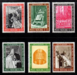 Poštovní známky Vatikán 1966 Druhý vatikánský koncil Mi# 508-13