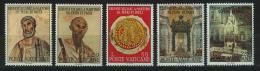 Poštovní známky Vatikán 1967 Svatí Petr a Pavel Mi# 523-27