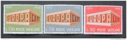 Poštovní známky Vatikán 1969 Evropa CEPT Mi# 547-49