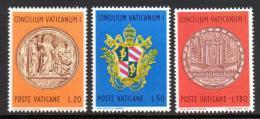 Poštovní známky Vatikán 1970 První vatikánský koncil, 100. výroèí Mi# 561-63