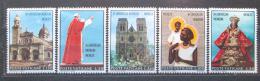 Poštovní známky Vatikán 1970 Papež v Austrálii a na Filipínách Mi# 572-76