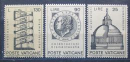 Poštovní známky Vatikán 1972 Architektura, Bramante Mi# 596-98