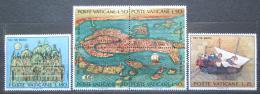 Poštovní známky Vatikán 1972 Benátky Mi# 599-604