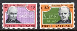 Poštovní známky Vatikán 1972 Osobnosti Mi# 613-14