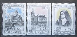 Poštovní známky Vatikán 1973 Svatá Terezie z Lisieux Mi# 618-20