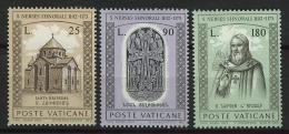 Poštovní známky Vatikán 1973 Nerses Shnorali, arménský patriarcha Mi# 629-31