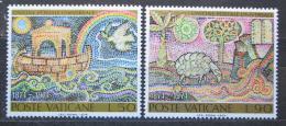 Poštovní známky Vatikán 1974 UPU, 100. výroèí Mi# 633-34