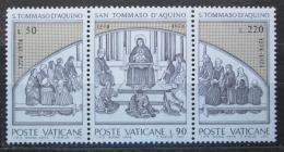 Poštovní známky Vatikán 1974 Tomáš Akvinský Mi# 640-42