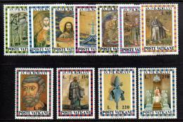 Poštovní známky Vatikán 1974 Svatý rok 1975 Mi# 646-56