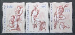 Poštovní známky Vatikán 1976 Fresky Mi# 675-77