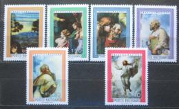 Poštovní známky Vatikán 1976 Umìní, Raffael Mi# 683-88