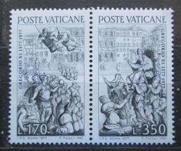 Poštovní známky Vatikán 1977 Návrat papeže z Avignonu do Øíma Mi# 701-02