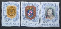 Poštovní známky Vatikán 1978 Papež Pius IX. a erby Mi# 720-22