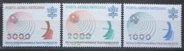 Poštovní známky Vatikán 1978 Mezinárodní den komunikace Mi# 723-25 Kat 5.50€
