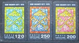 Poštovní známky Vatikán 1978 Erb papeže Mi# 729-31