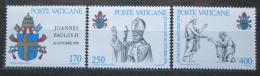 Poštovní známky Vatikán 1979 Papež Jan Pavel I. Mi# 736-38