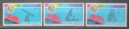 Poštovní známky Vatikán 1979 Angelo Secchi, astronom Mi# 745-47
