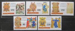Poštovní známky Vatikán 1980 Benedikt z Nursie Mi# 759-63
