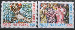 Poštovní známky Vatikán 1980 Slavnost Všech svatých Mi# 775-76