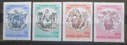 Poštovní známky Vatikán 1983 Fresky, Raffael Mi# 826-29