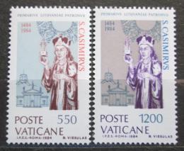 Poštovní známky Vatikán 1984 Svatý Kazimír, polský princ Mi# 846-47