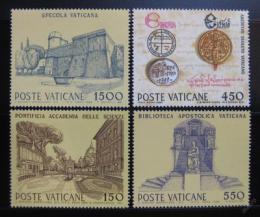 Poštovní známky Vatikán 1984 Kulturní a hospodáøská zaøízení Mi# 848-51