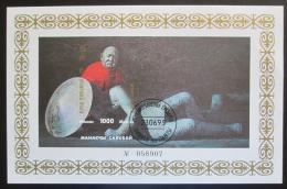 Poštovní známka Kyrgyzstán 1995 Epos Manas Mi# Block 10 B