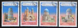 Poštovní známky Uzbekistán 1995 Architektura Mi# 71-74 Kat 18€