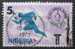 Poštovní známka Nigérie 1973 Pan-africké sportovní hry Mi# 269